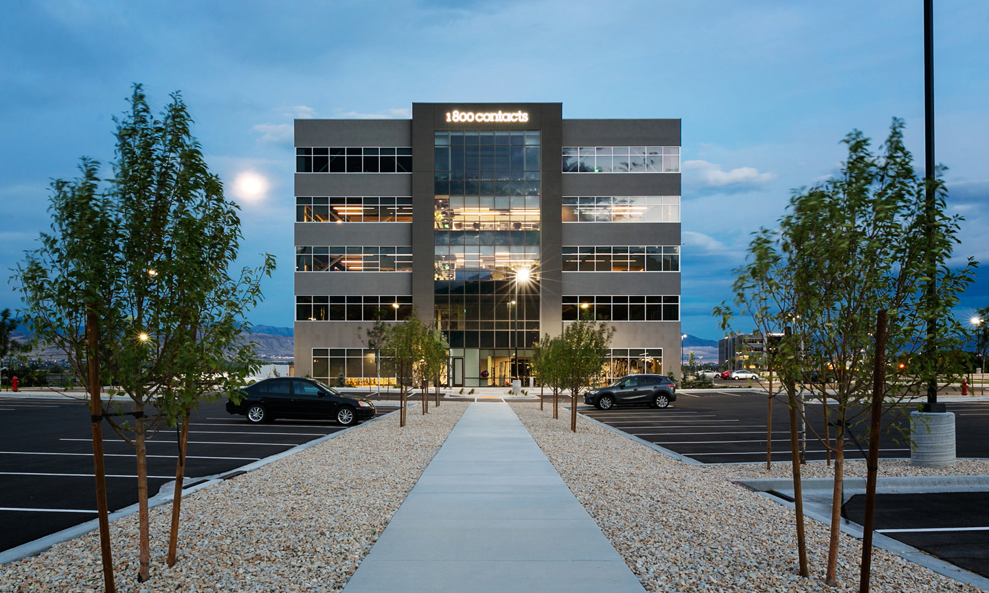 1-800-Contacts office building