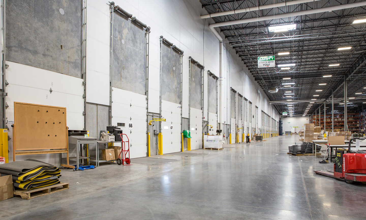 BDO 961 Amer Sports industrial property manager