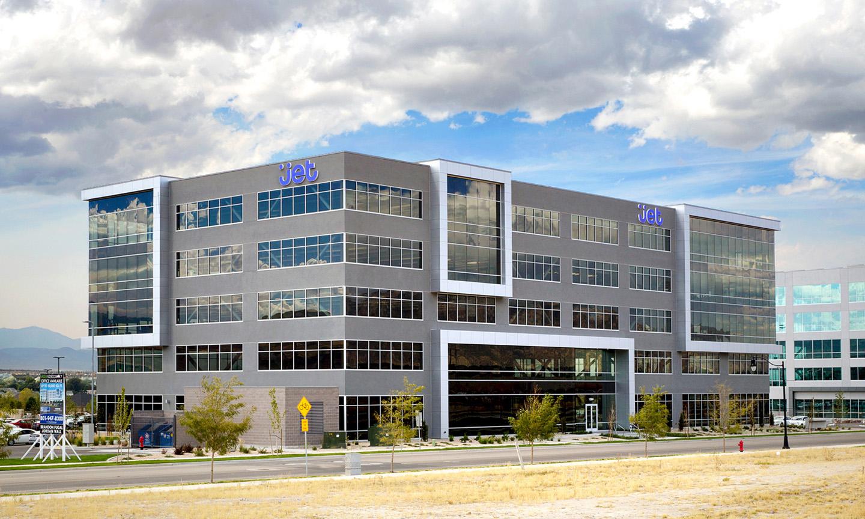 Jet office building