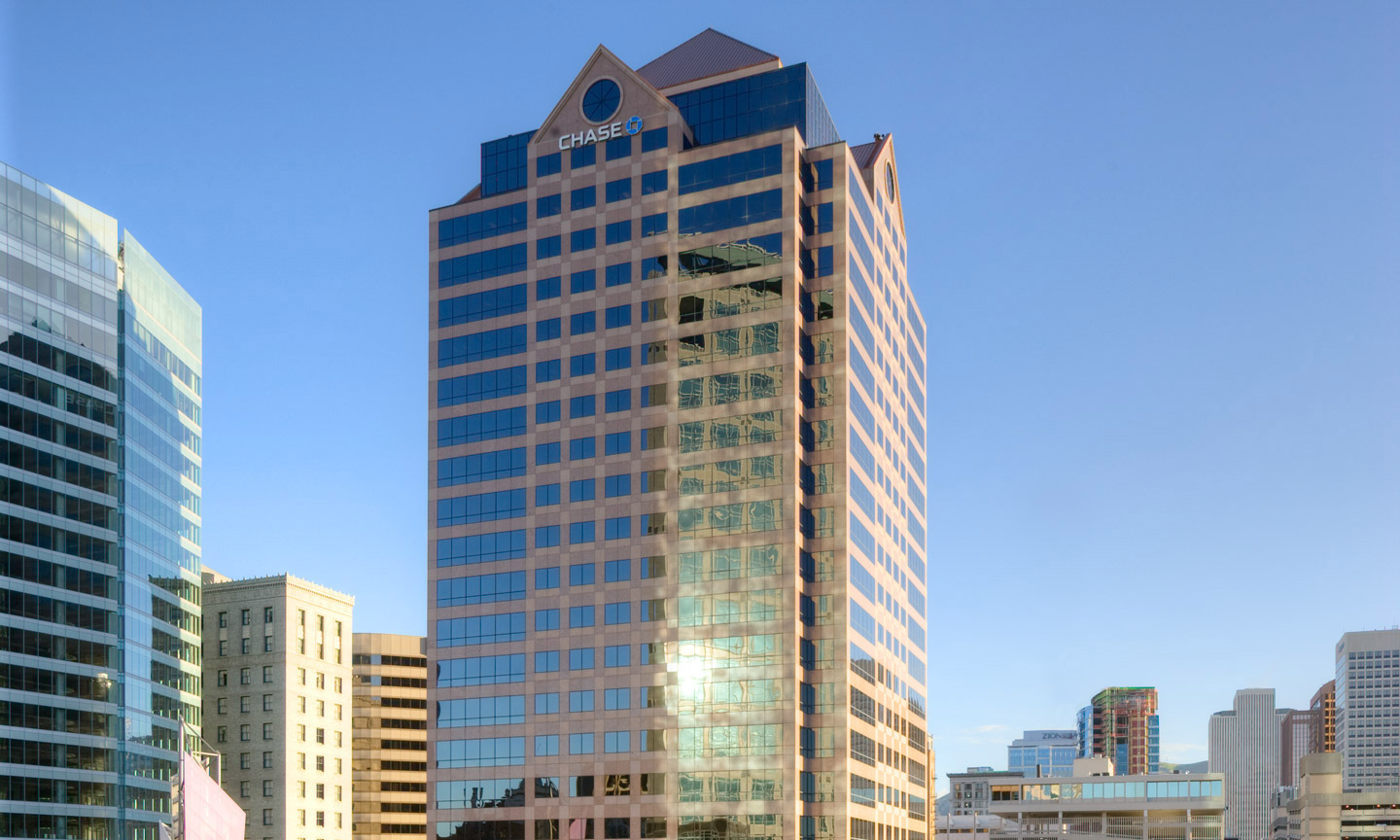 One Utah Center office building