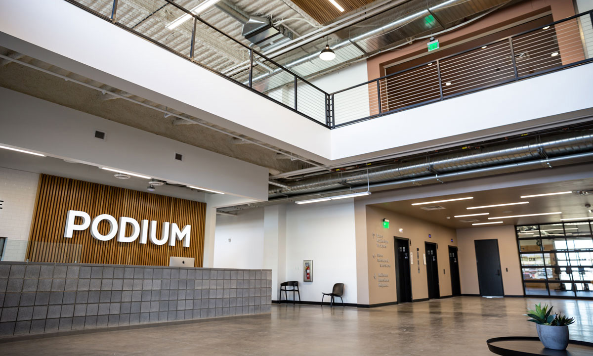 Podium commercial real state | Boyer Company
